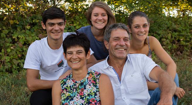 Die Gastgeber Familie Meyer