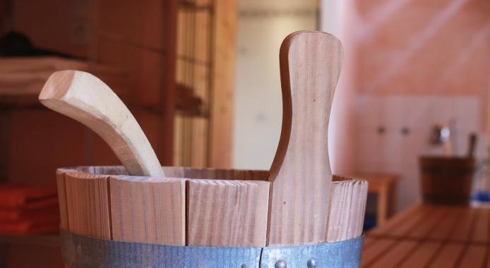 Sauna-Kübel für Aufgüsse
