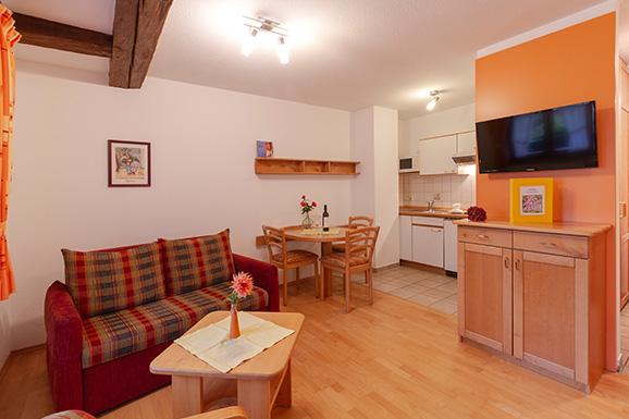 Küche Wohnung Drei