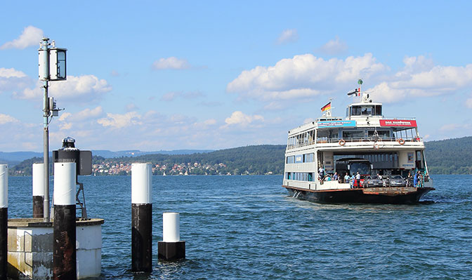 Schiff auf dem Bodensee