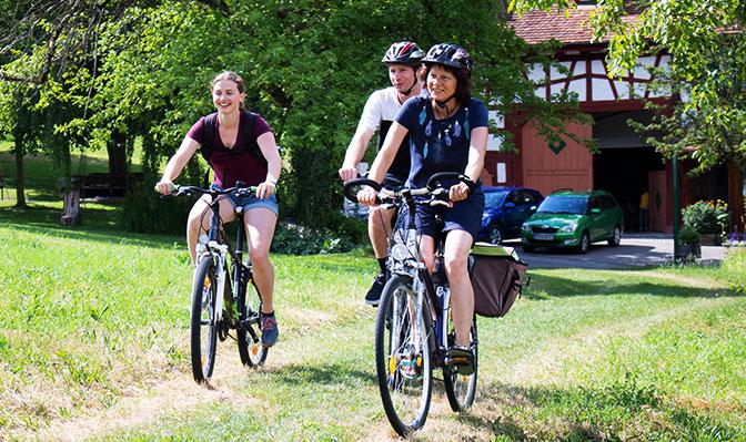 Toller Ausgangspunkt für schöne Radtouren