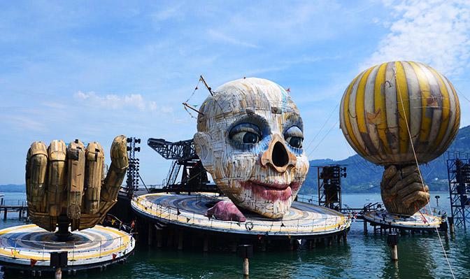 Festspielbühne in Bregenz